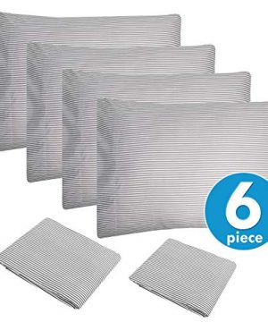 King Size Bed Sheets 6 Piece 1500 Thread Count Fine