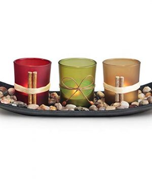 LETINE Home Decor Candle Holders Set For Living Room Bathroom Decor Decorative Candle Holder Centerpieces For Dining Room Table Coffee Table Decor 0 300x360
