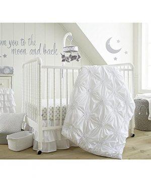 Levtex Home Baby Willow 5 Piece Crib Bedding Set White 0 300x360