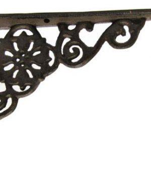 LotSet Of 6 Antique Style Cast Iron SMALL 6 14 X 4 12 SHELF BRACKETS Hangers Braces 0 2 300x360