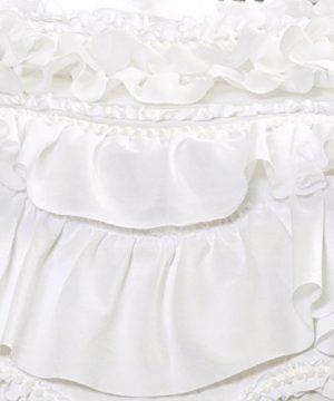 Lush Decor Kemmy Quilt Ruffled Textured 3 Piece King Size Bedding Set White 0 3 300x360
