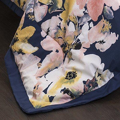 Lush Decor Lush Dcor Floral Watercolor 7 Piece Comforter Set FullQueen 0 0 2