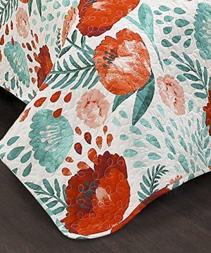 Lush Decor Poppy Garden 3 Piece Quilt Set King Multicolor 0 3 300x360