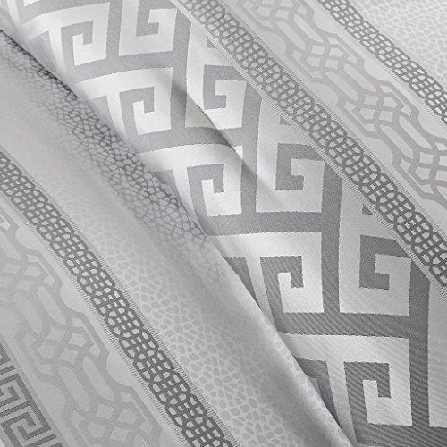 Madison Park Bennett 7 Piece Comforter Set Grey Queen 0 1