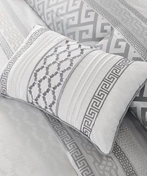 Madison Park Bennett 7 Piece Comforter Set Grey Queen 0 2 300x360
