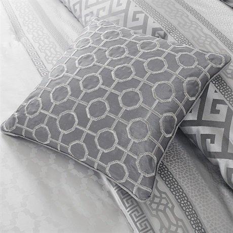Madison Park Bennett 7 Piece Comforter Set Grey Queen 0 4