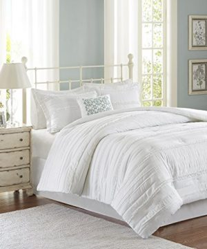 Madison Park Celeste 5 Piece Comforter Set White King 0 300x360