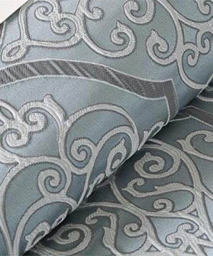 Madison Park LaVine 12 Piece Jacquard Comforter Set Blue Queen 0 300x360