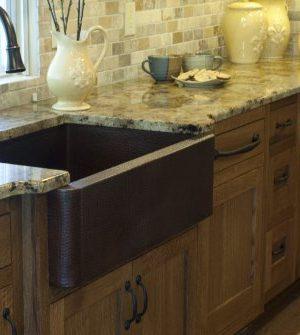 Novatto FARMHOUSE Copper Kitchen Sink Antique 0 2 300x335