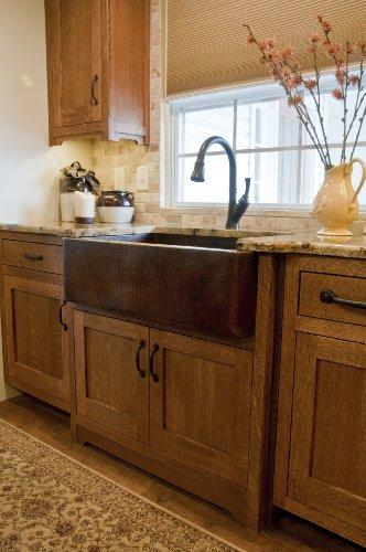 Novatto FARMHOUSE Copper Kitchen Sink Antique 0 3