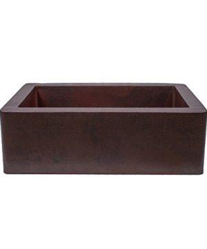 Novatto FARMHOUSE Copper Kitchen Sink Antique 0 300x360