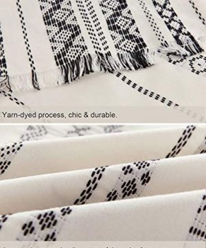 PHF Cotton Boho Yarn Dyed Duvet Cover Set Christmas Decorations Cozy Soft Home Decoration For Winter Queen Size Ivory 0 5 300x360