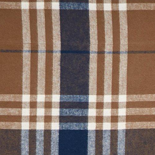 Pinzon Plaid Flannel Bed Sheet Set Twin Brown Plaid 0 1