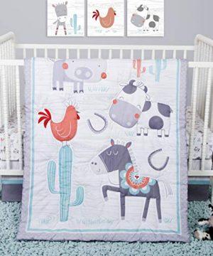 Sammy Lou Sammy And Lou Farmstead Friends 4 Piece Crib Bedding Set 0 300x360