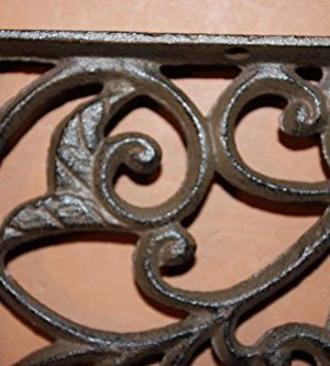 Set Of 4 Farmhouse Shelf Brackets Cast Iron Open Shelving Supports Corbels 12 Inches B 14 0 0 300x333