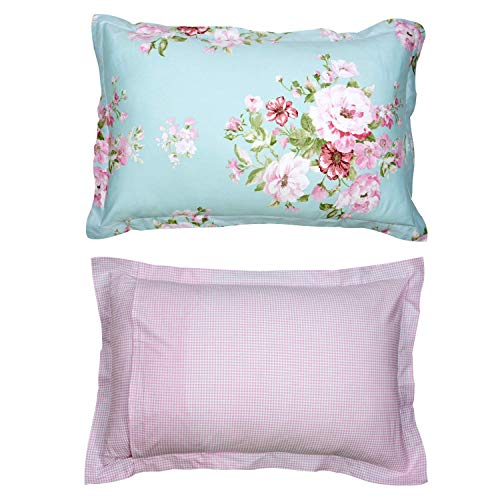 Shabby Farmhouse Pink Rose Floral Duvet Cover Set 100 Cotton 3Pcs American Country Style Queen Size Bedding Set 1duvet Cover 2pillowcases 0 1