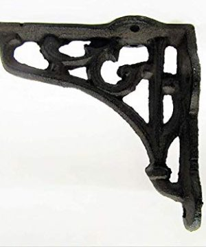 Shelf Brackets Braces Cast Iron Very Small Rustic Antique Style Lot Set Of 8 0 1 300x360