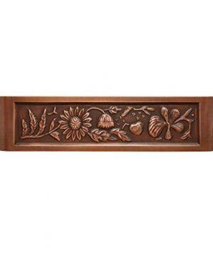 Signature Hardware 318839 Floral Design 33 Single Basin Copper Farmhouse Sink 0 1 300x360