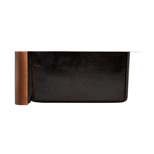 Signature Hardware 318839 Floral Design 33 Single Basin Copper Farmhouse Sink 0 3
