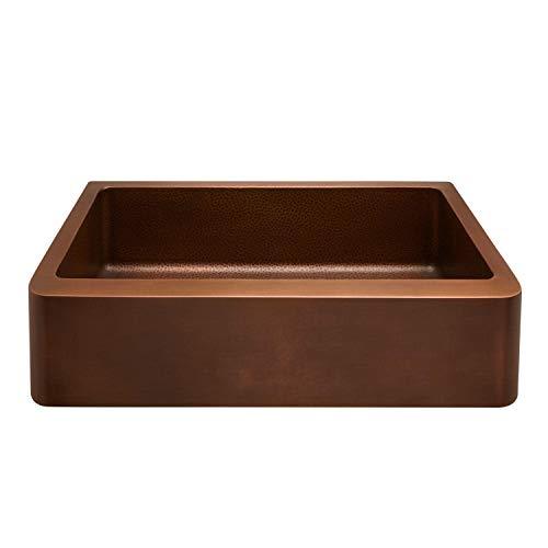 Signature Hardware 318879 Raina 36 Single Basin Copper Farmhouse Sink 0 1