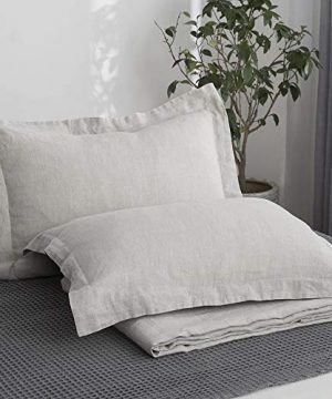 Simple Amp Opulence 100 Linen Stone Washed 3pcs Basic Style