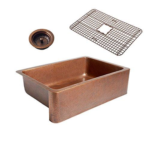 Sinkology K1A 1004 WG B Copper Kitchen Sink 0