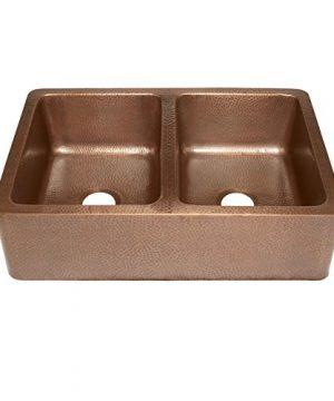 Sinkology K2A 1005 AMZ BD Rockwell Combo Strainer Disposal Drains Kitchen Sink Antique Copper 0 1 300x360