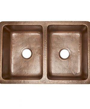 Sinkology K2A 1005 AMZ BD Rockwell Combo Strainer Disposal Drains Kitchen Sink Antique Copper 0 2 300x360