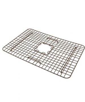 Sinkology SK302 30AC WG B Courbet Copper Kitchen Sink With Grid And Strainer Drain 0 3 300x360