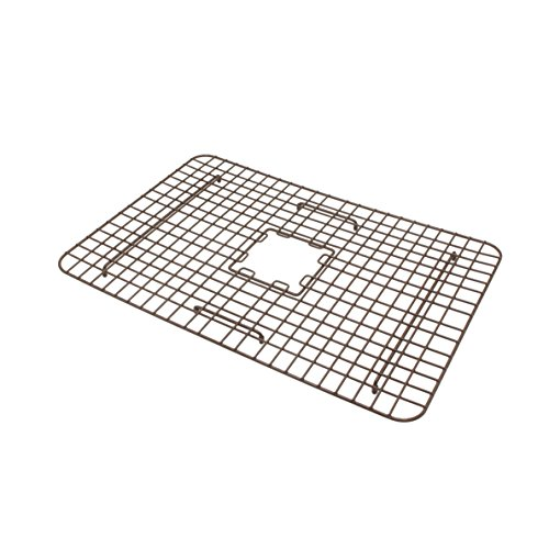 Sinkology SK302 30AC WG B Courbet Copper Kitchen Sink With Grid And Strainer Drain 0 3