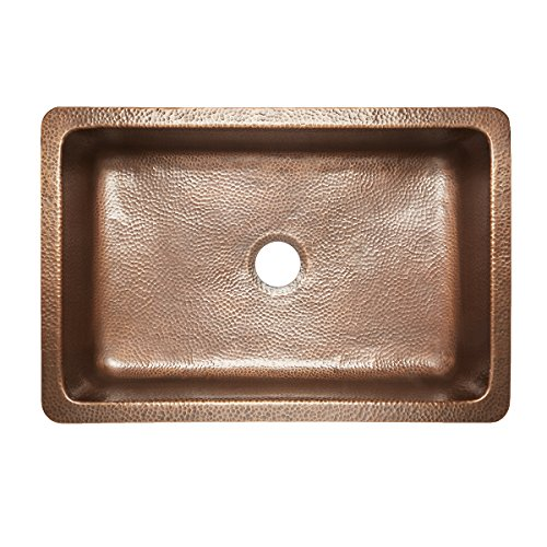 Sinkology SK303 33SC WG B Ganku Copper Kitchen Sink 0 2