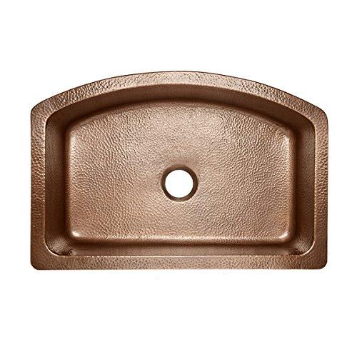 Sinkology SK304 33B WG D Copper Kitchen Sink 0 2