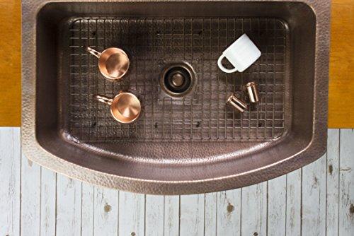 Sinkology SK304 33B WG D Copper Kitchen Sink 0 5