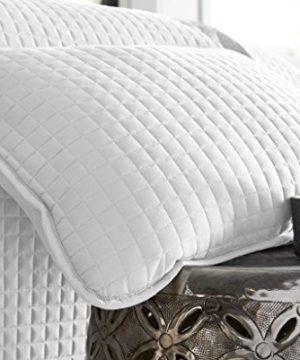Southshore Fine Linens Vilano Springs Oversized 3 Piece Quilt Set KingCalifornia King Bright White 0 2 300x360