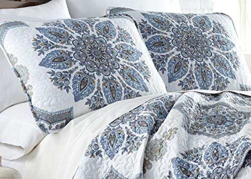 Southshore Fine Living Inc The Infinity Collection Quilt 3 Piece Set KingCalifornia King Blue 0 0