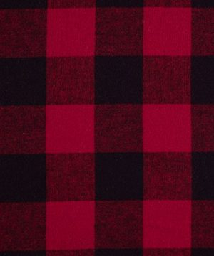 Stone Beam Rustic Buffalo Check Flannel Duvet Cover Set Twin Red And Black 0 3 300x360