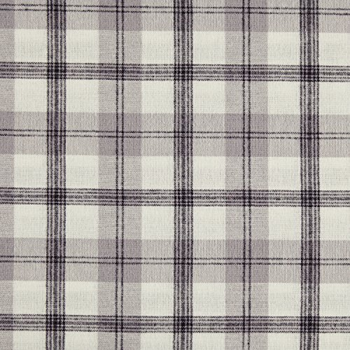 Stone Beam Rustic Plaid Flannel Duvet Cover Set Twin Black And White 0 3