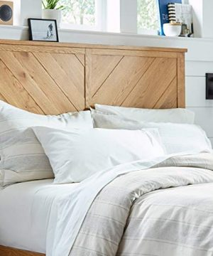 Stone-Beam-Washed-Linen-Stripe-Duvet-Cover-Set-Full-Queen-White-with-Blue-Stripe-0