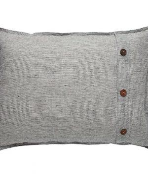 Stone Beam Wooden Button Farmhouse Duvet Cover Set King Grey 0 2 300x360