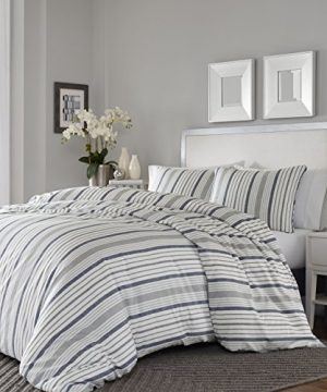 Stone Cottage Conrad Comforter Set FullQueen Medium Grey 0 300x360