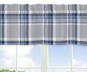 Sweet Jojo Designs 9 Piece Rustic Designer Navy Blue And Gray Boys Plaid Baby Bedding Crib Set 0 1 300x248