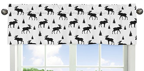 Sweet Jojo Designs Grey Flannel Moose Gray 9 pieces Black and Red Woodland Plaid and Arrow Rustic Patch Baby Boy Crib Bedding Set with Bumper