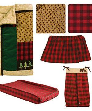 Trend Lab Northwoods 6Piece Crib Bedding Set 0 0 300x360