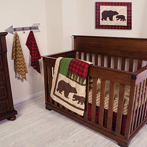 Trend Lab Northwoods 6piece Crib Bedding Set Farmhouse Goals