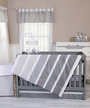Trend Lab Ombre Gray 3 Piece Crib Bedding Set 0 300x360