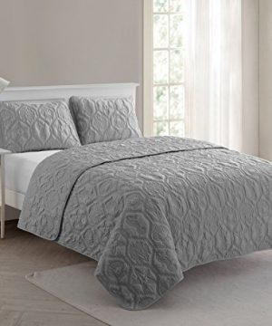 VCNY Home Shore Quilt Set King Grey 0 0 300x360
