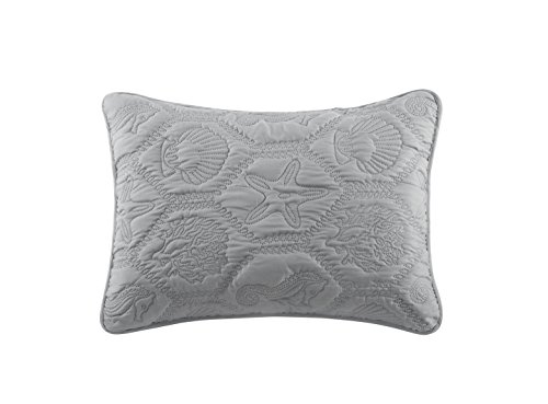 VCNY Home Shore Quilt Set King Grey 0 3
