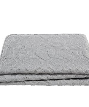 VCNY Home Shore Quilt Set King Grey 0 4 300x358
