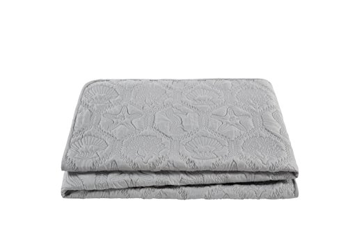 VCNY Home Shore Quilt Set King Grey 0 4
