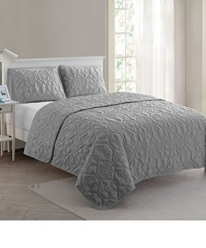 VCNY Home Shore Quilt Set King Grey 0 5 300x360